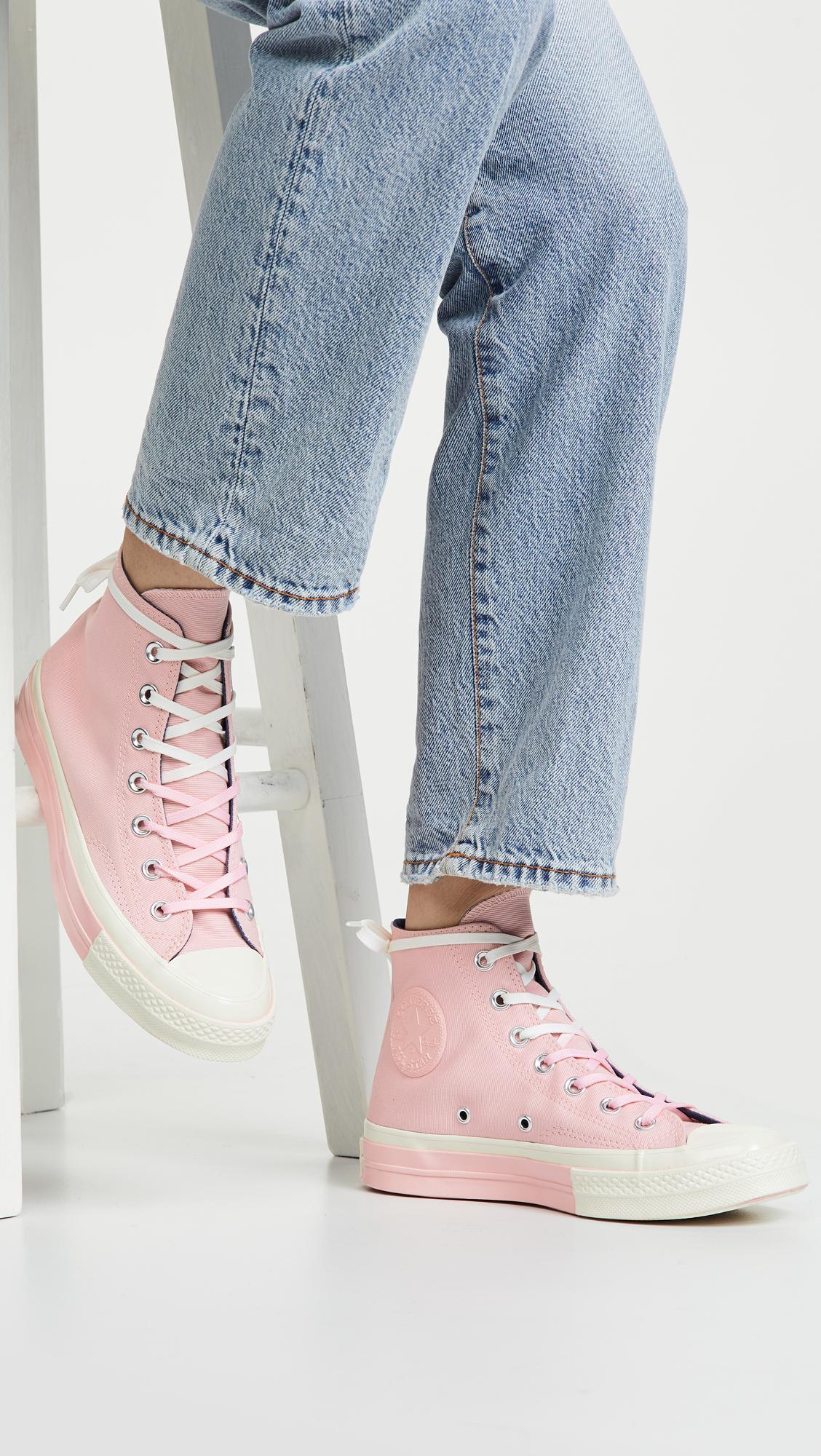 f07e991d6c17 Converse Chuck 70s High Top Super Colorblock Sneakers