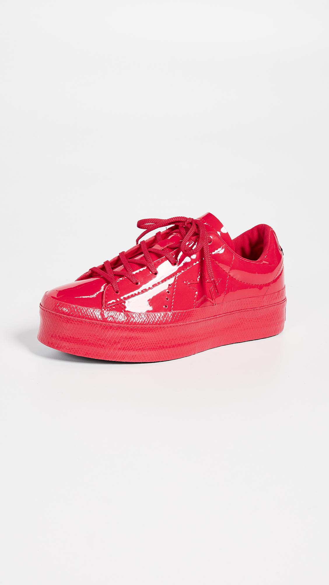 Converse's One Star Platform Ox With Pink Sole   HYPEBAE