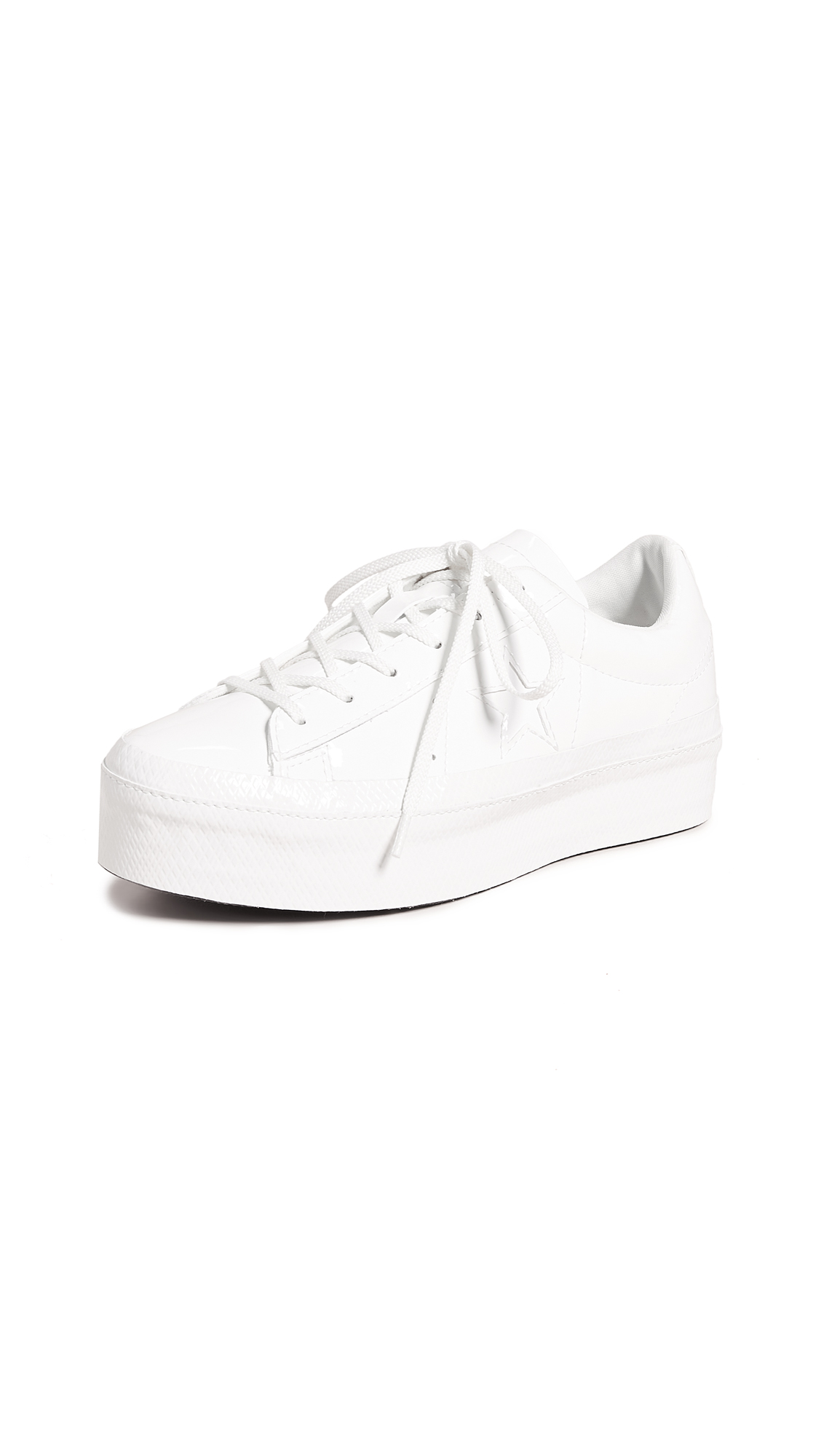 Converse One Star Ox Sneakers - Vintage White