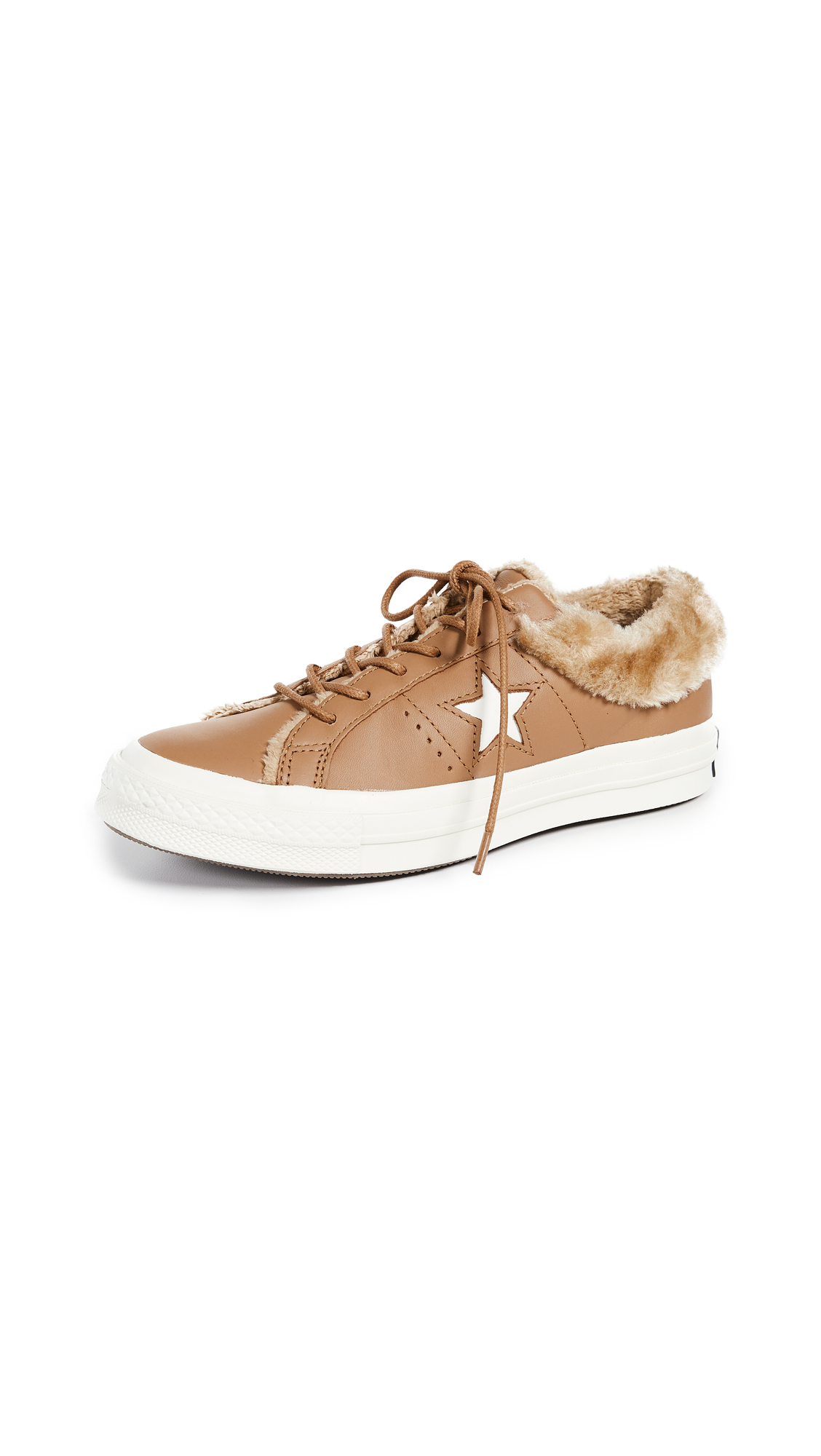 Converse One Star Ox Sneakers - Burnt Caramel