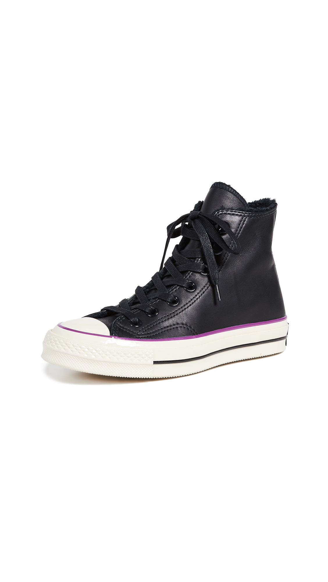 Chuck Taylor All Star Ct 70 Street Warmer High Top Sneaker in Black