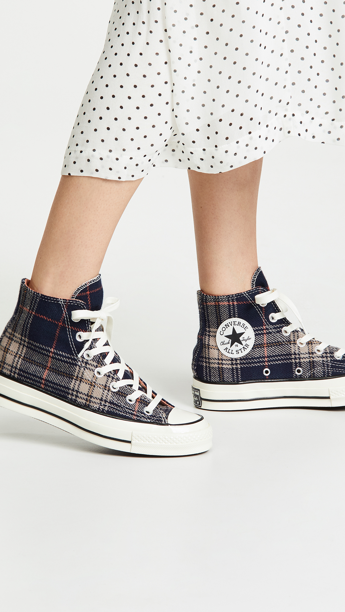 09d9094b0296 Converse Chuck 70 Plaid High Top Sneakers | SHOPBOP