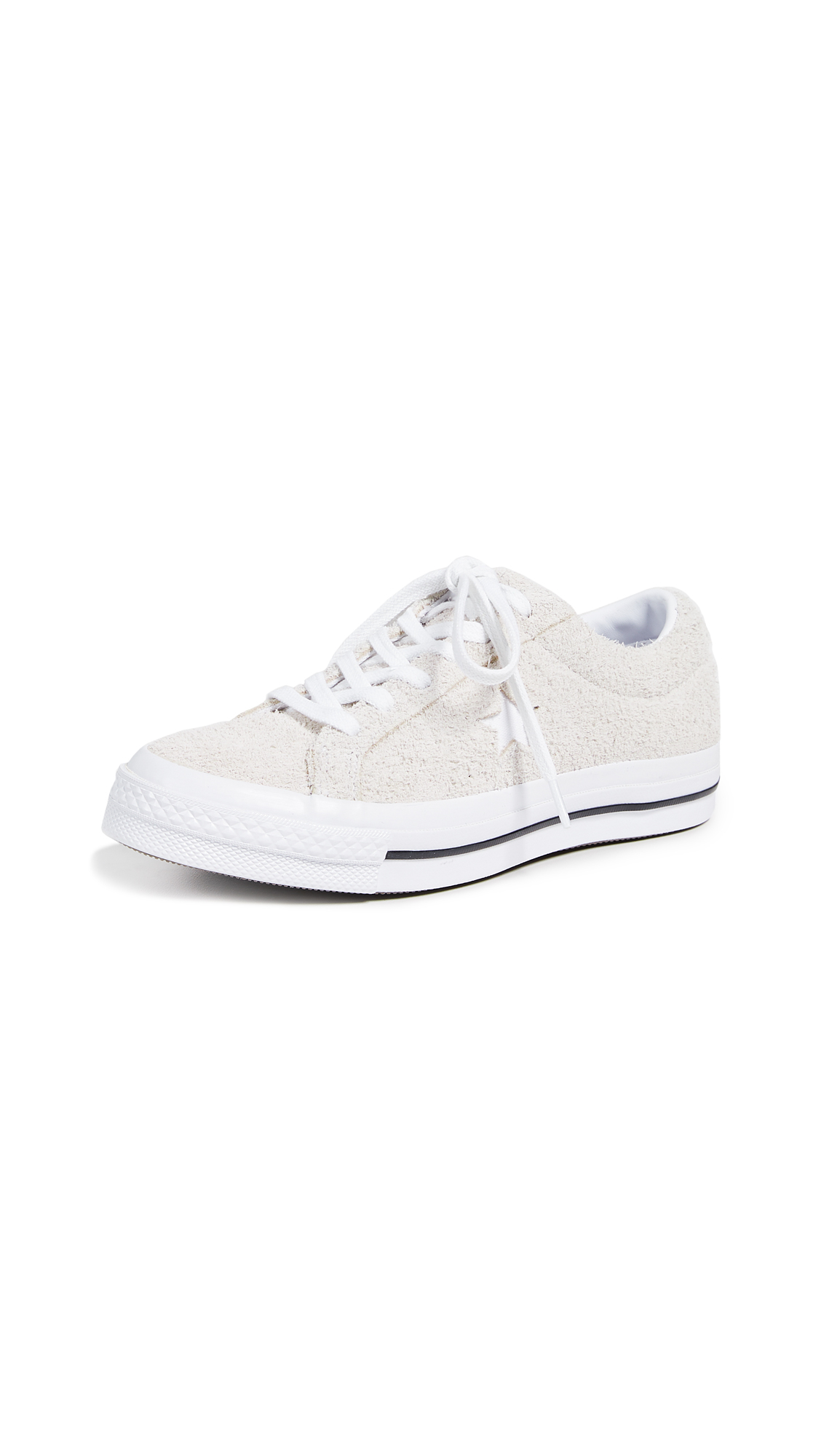 Converse One Star Ox Sneakers - White