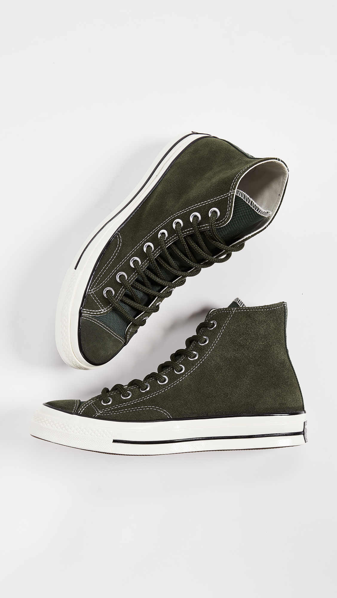 b04d26d0dbf Converse Chuck Taylor 70 Base Camp Suede High Top Sneakers