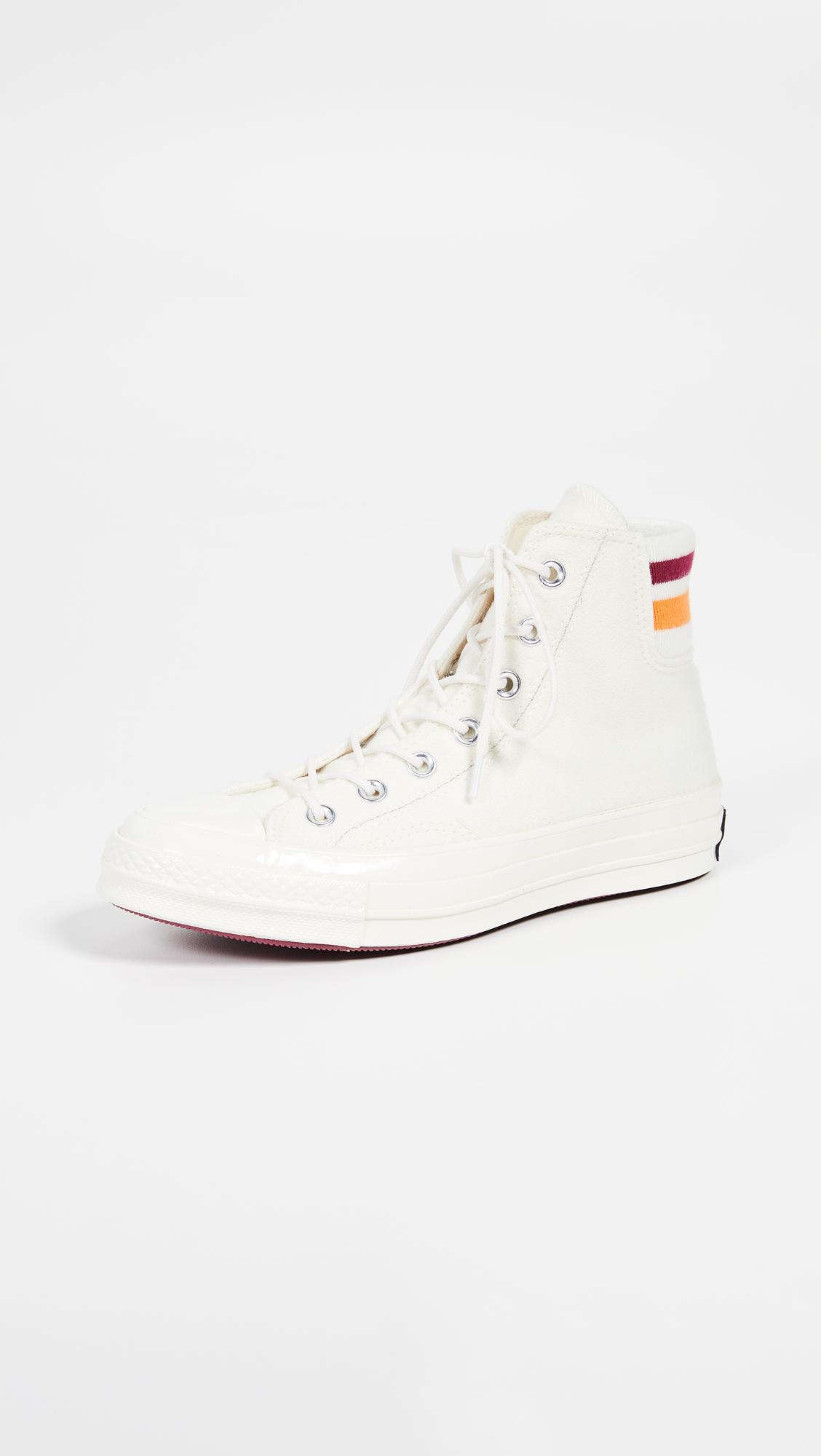 eff3853462f0 Converse Chuck 70 Retro Stripe High Top Sneakers