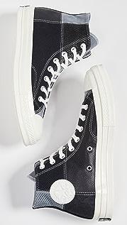 Converse CT70 Mixed Material Hi-Top Sneakers