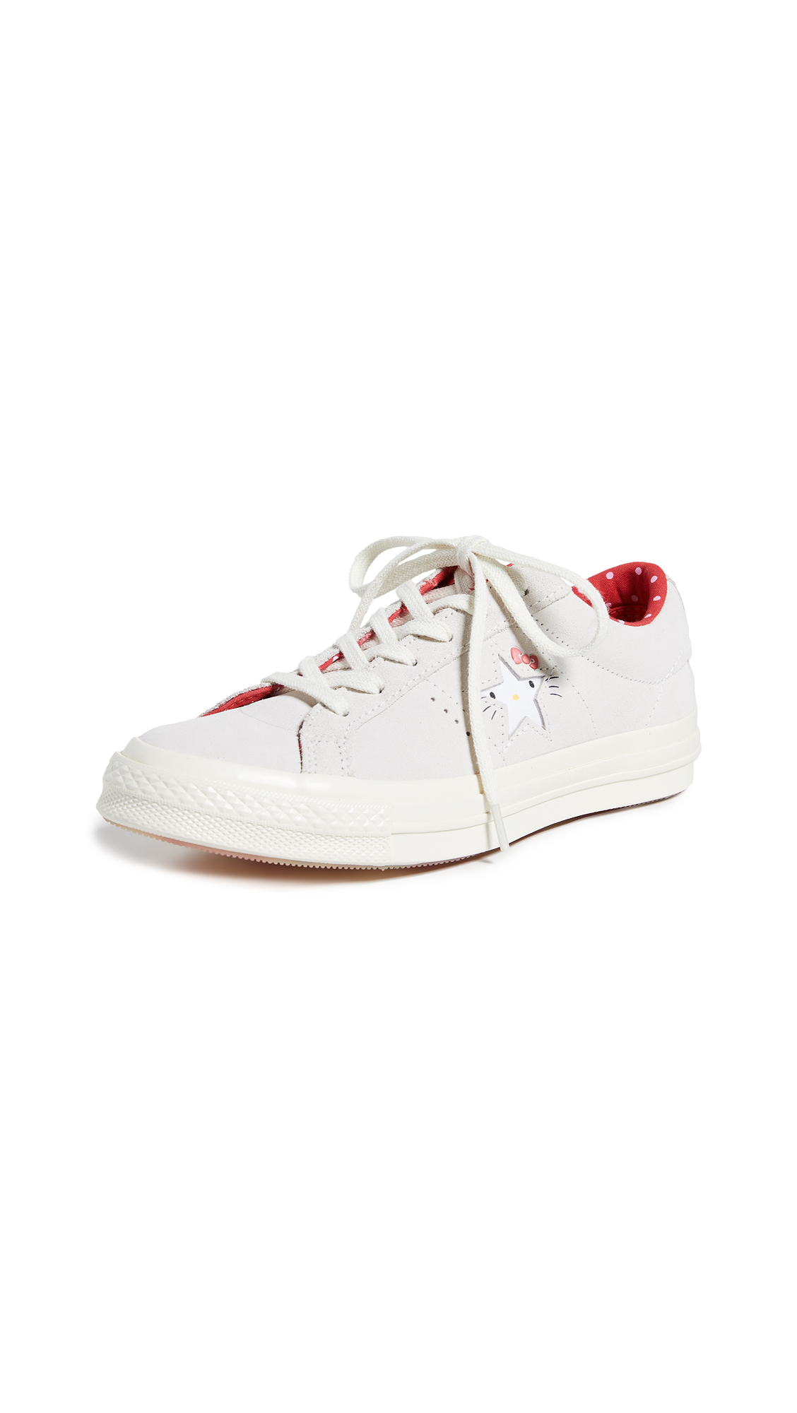 Converse Hello Kitty One Star Sneakers - Egret