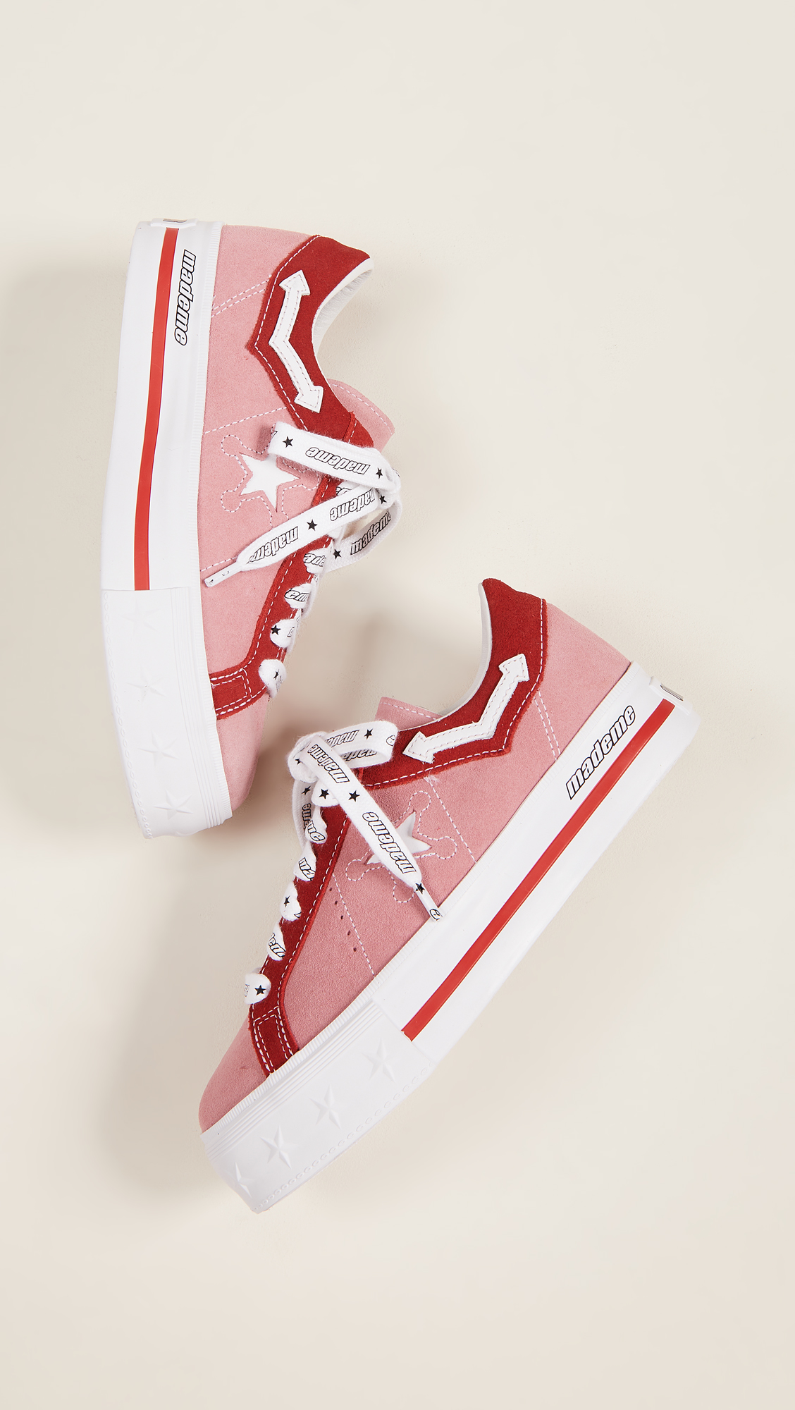 3d124f24c83 Converse x MadeMe One Star Lift Platform Sneakers