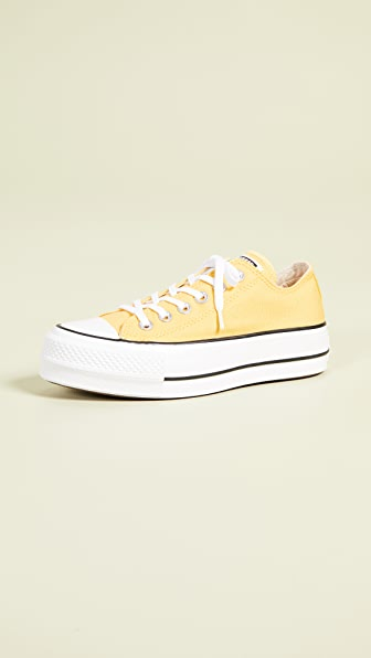 3b7b11e4e7a792 Converse Chuck Taylor All Star Ox Sneakers In Butter Yellow ...