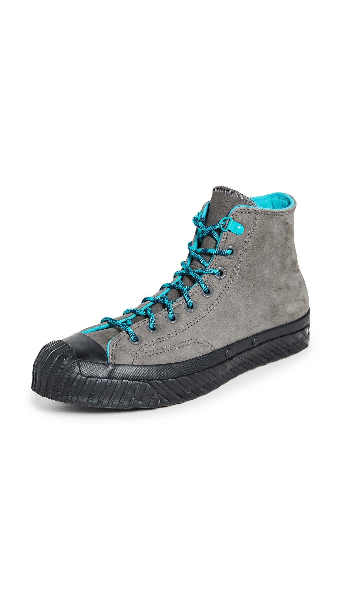 Chuck 70 Bosey High Top Sneakers In Carbon Greyturbo Greenblack