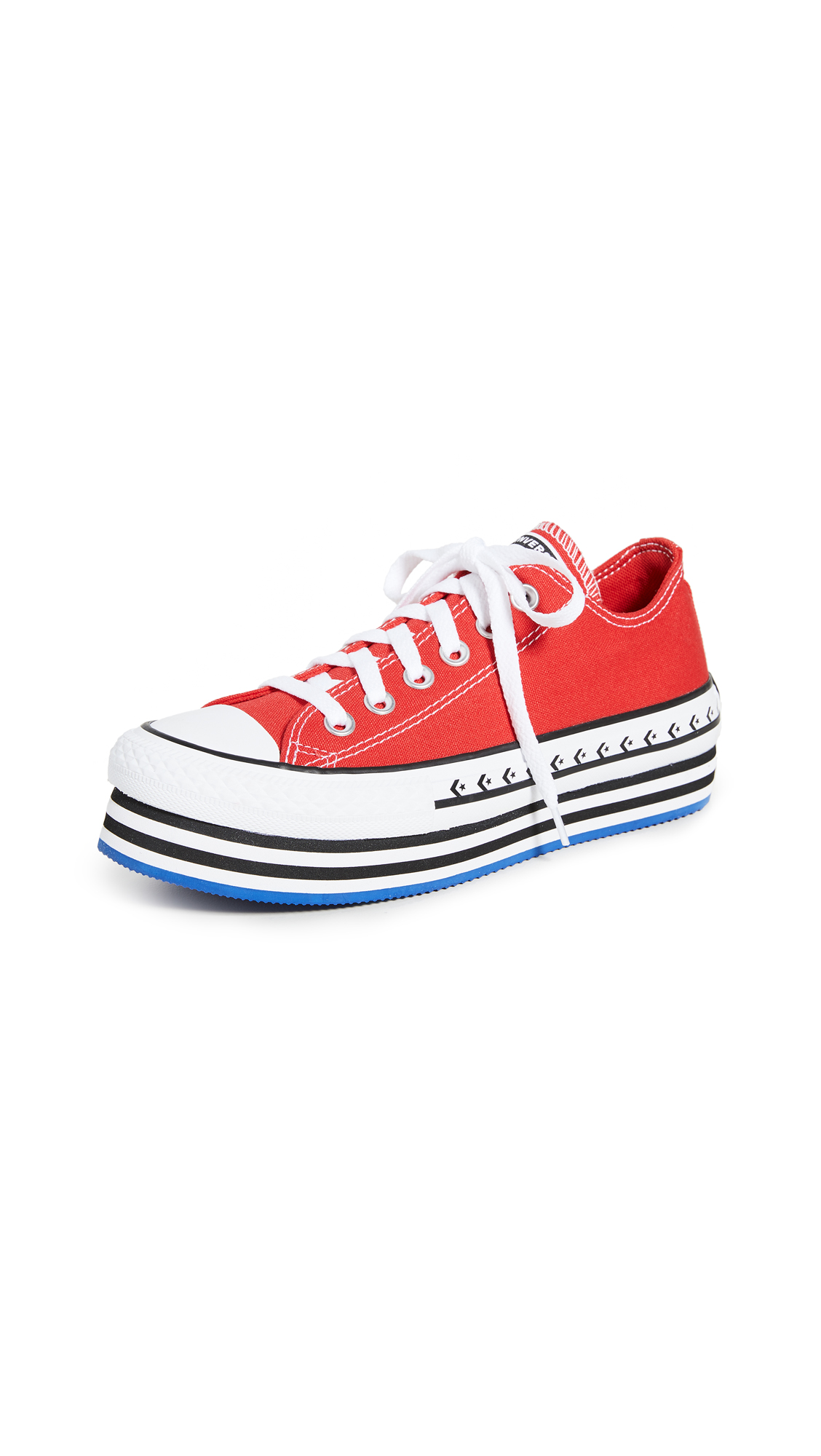 Buy Converse Chuck Taylor All Star Lift Archival Canvas Ox Sneakers online, shop Converse