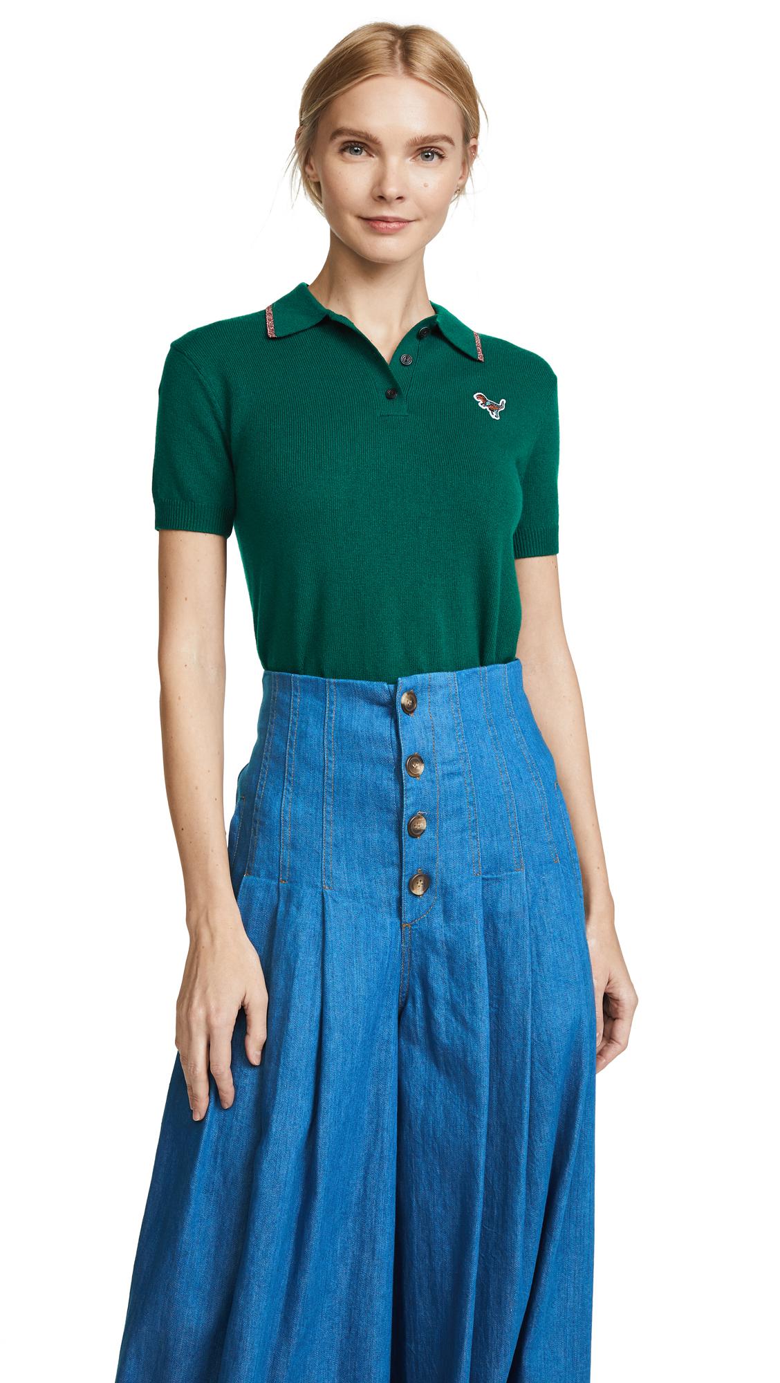 Coach 1941 Polo Tee - Dark Green