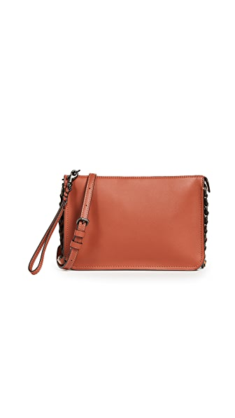 Coach 1941 Soho Cross Body Bag with Coach Link Detail In Vermillion