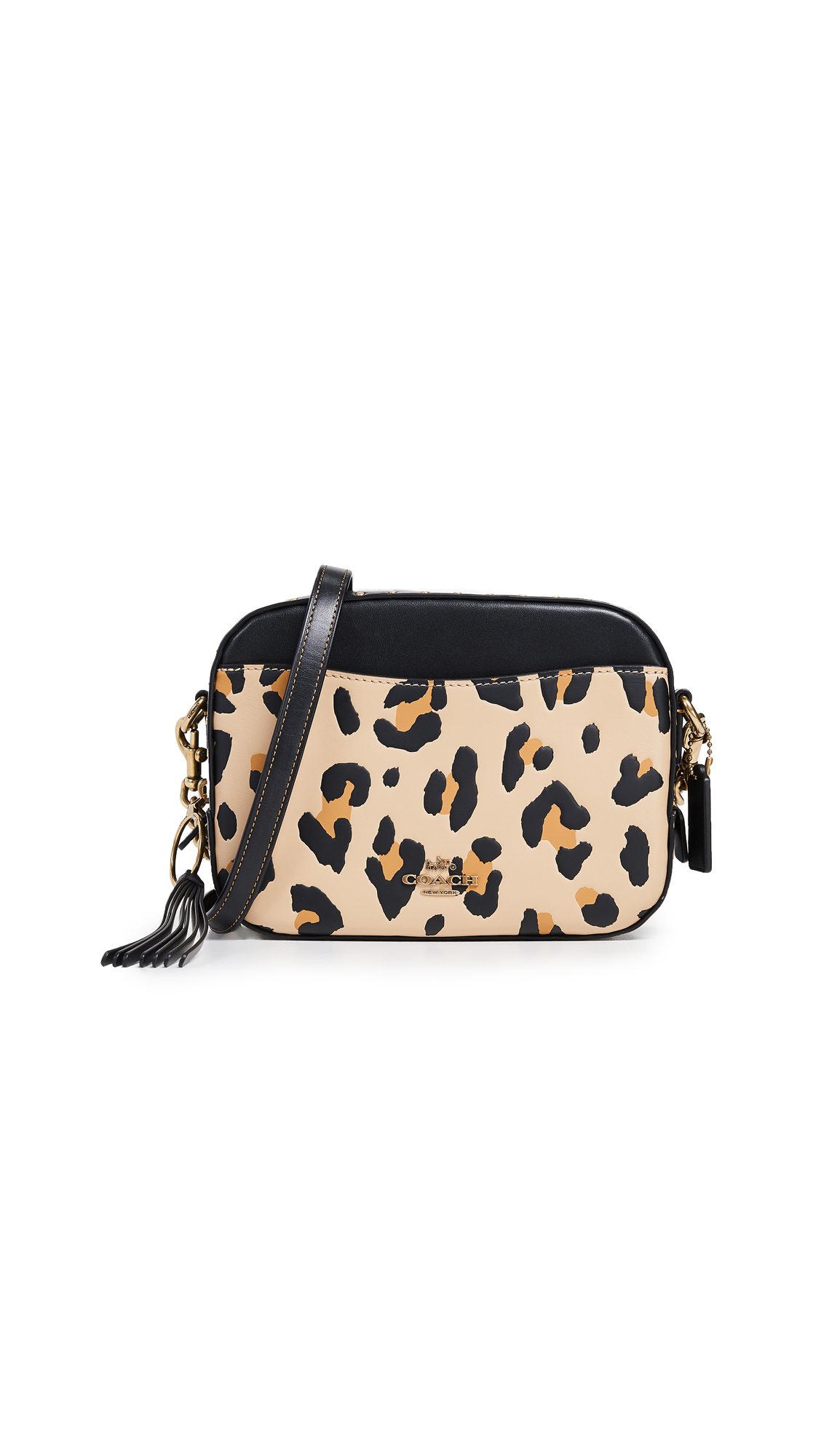 Coach 1941 Leopard Camera Bag