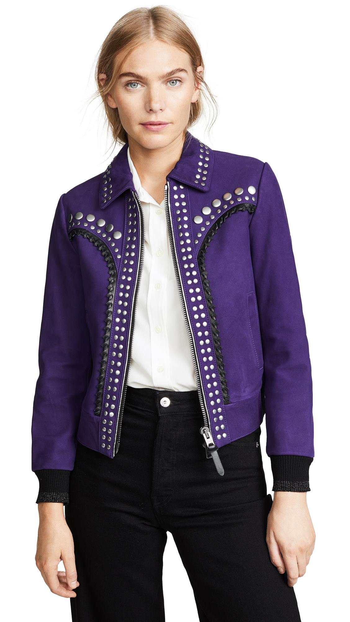 Coach 1941 Studded Bandana Jacket