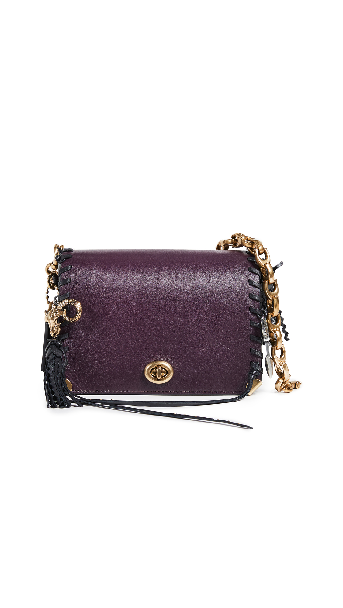1941 Charms Dinky 19 Crossbody Bag, Plum Multi