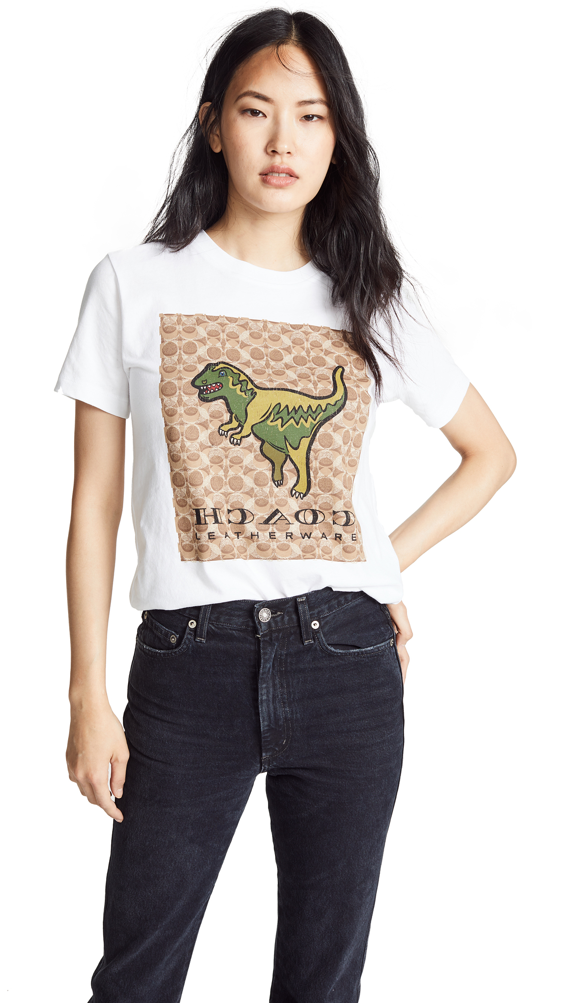 d773697f89 Coach 1941 Signature Rexy T-Shirt
