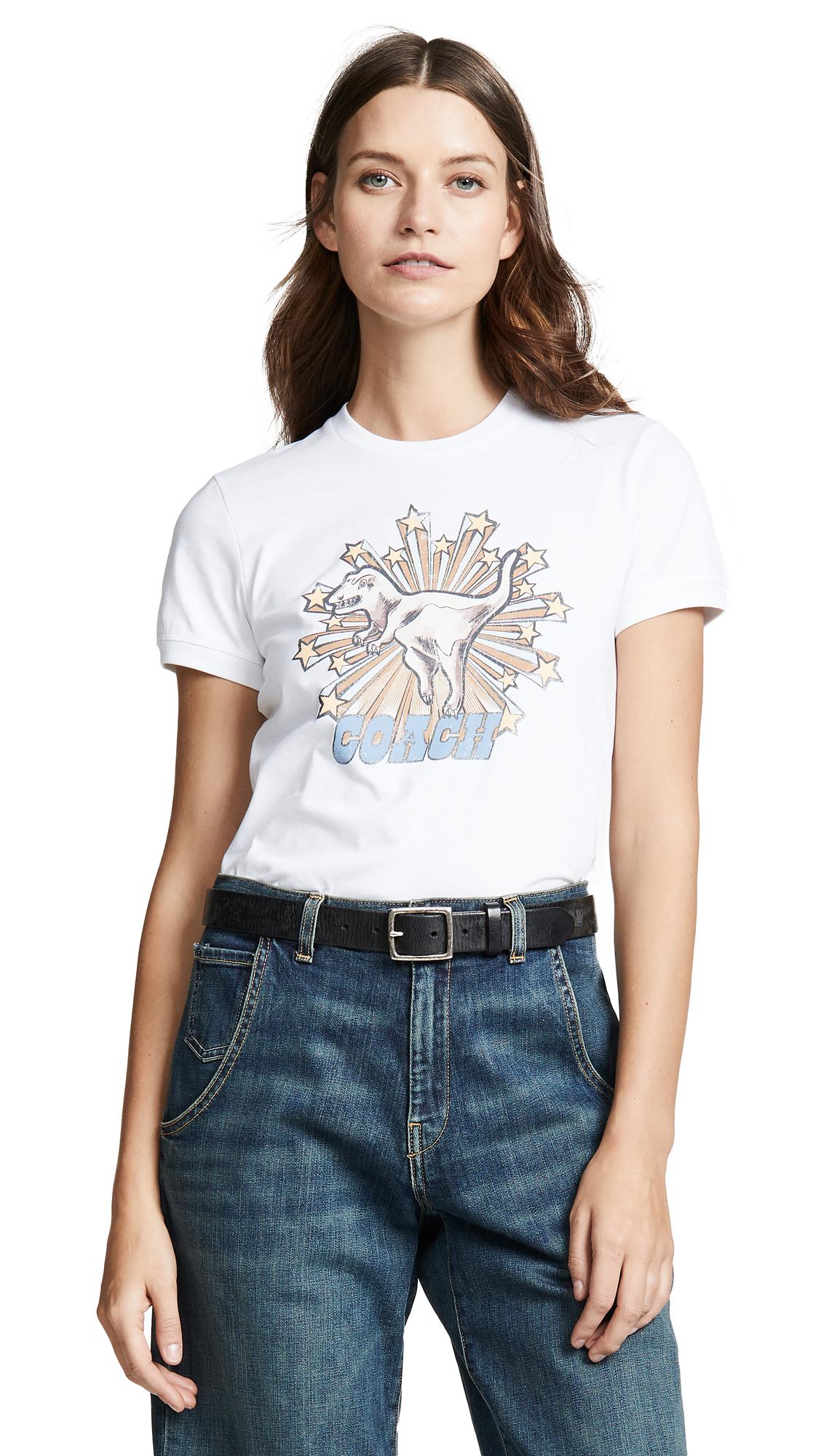 1941 Rexy Star T-Shirt in Optic White