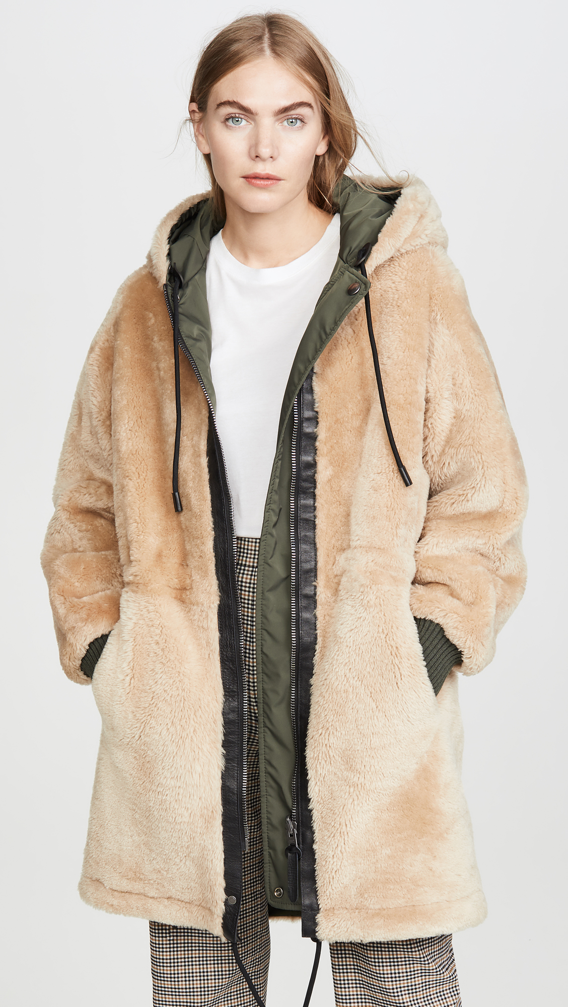 Coach Shearling On Reversible 1941 ParkaSHOPBOPSale doxBCer