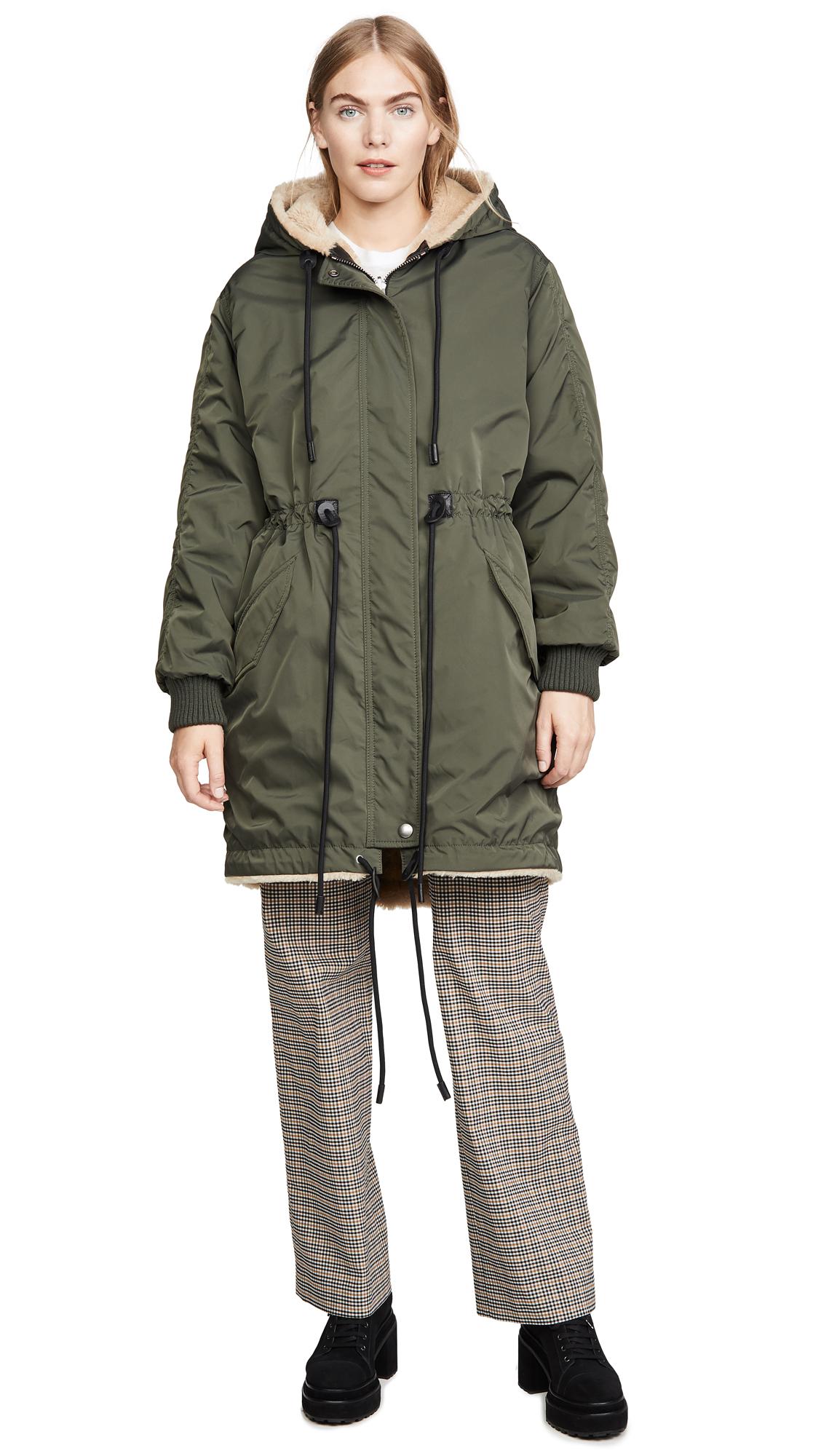 Buy Coach 1941 Reversible Shearling Parka online beautiful Coach Jackets, Coats, Down Jackets