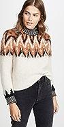 Coach 1941 Fair Isle Turtleneck Sweater