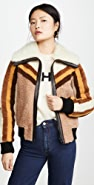 Coach 1941 Shearling Bomber Jacket