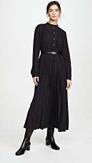 Coach 1941 Micro Dot Dress with Belt