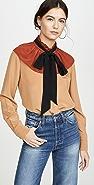 Coach 1941 裥褶衣领女式衬衫