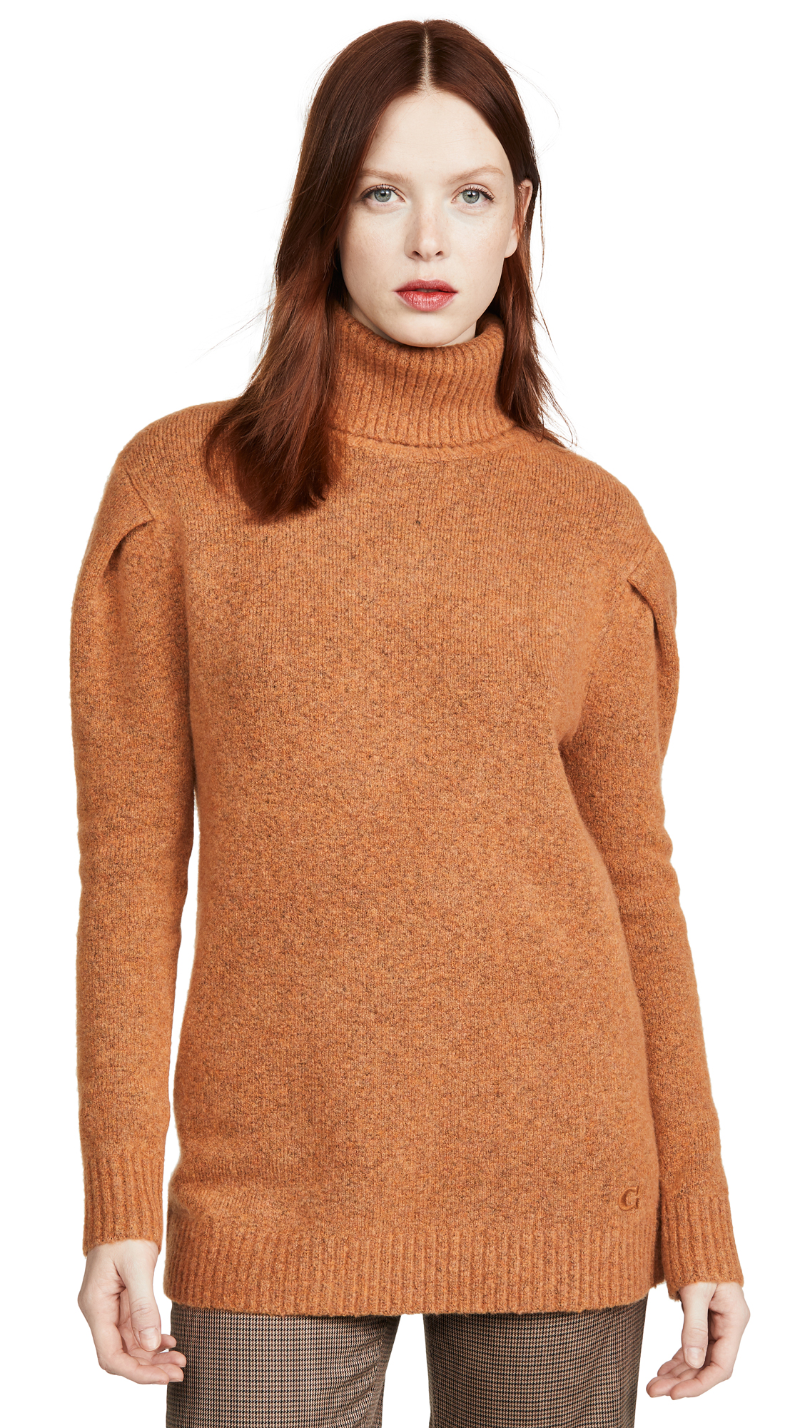 Buy Coach online - photo of Coach 1941 Frill Sleeve Turtleneck