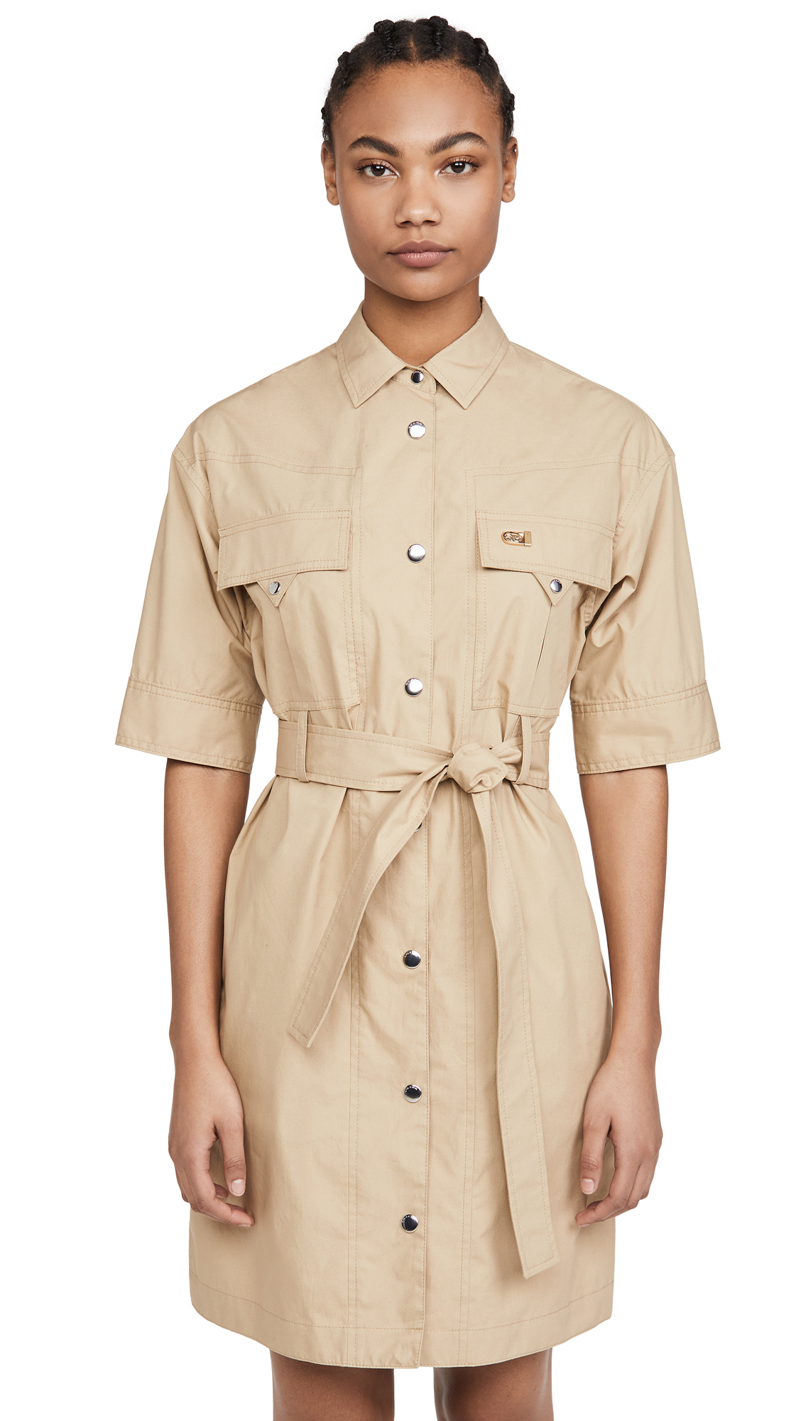 Buy Coach online - photo of Coach 1941 Short Sleeve Safari Shirtdress