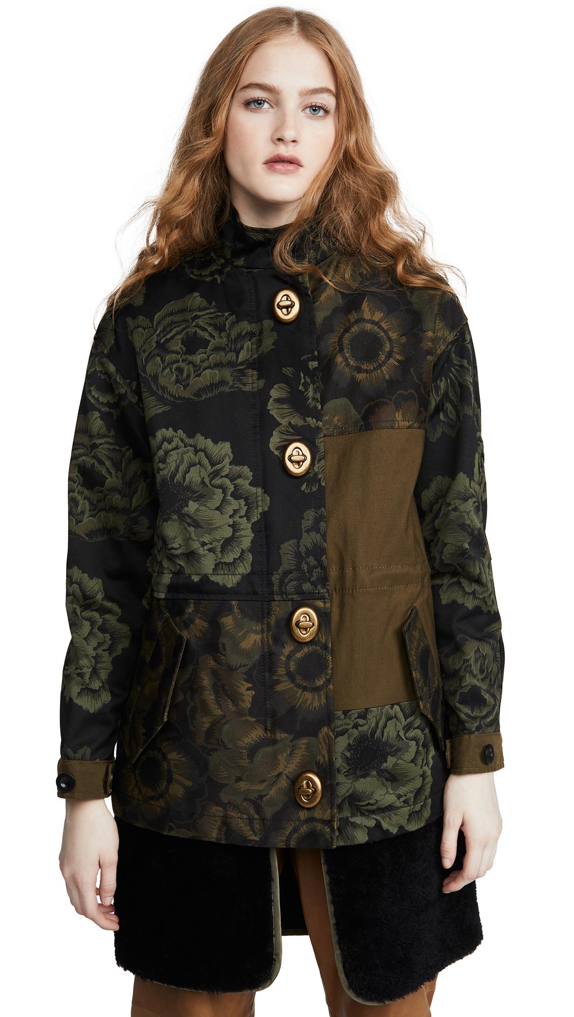 Buy Coach 1941 Patchwork Parka online beautiful Coach Jackets, Coats, Coats