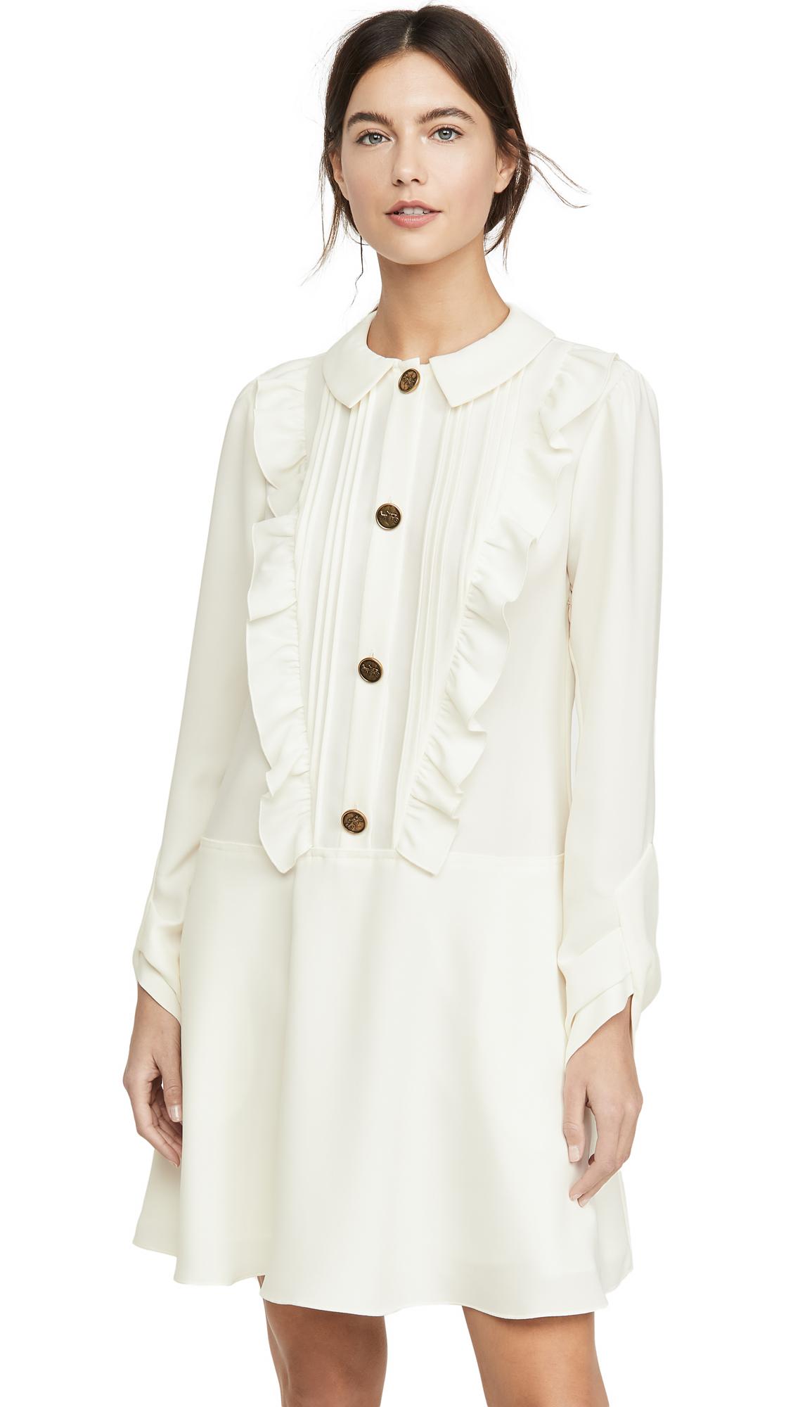 Buy Coach 1941 Ruffle Bib Dress online beautiful Coach Clothing, Dresses