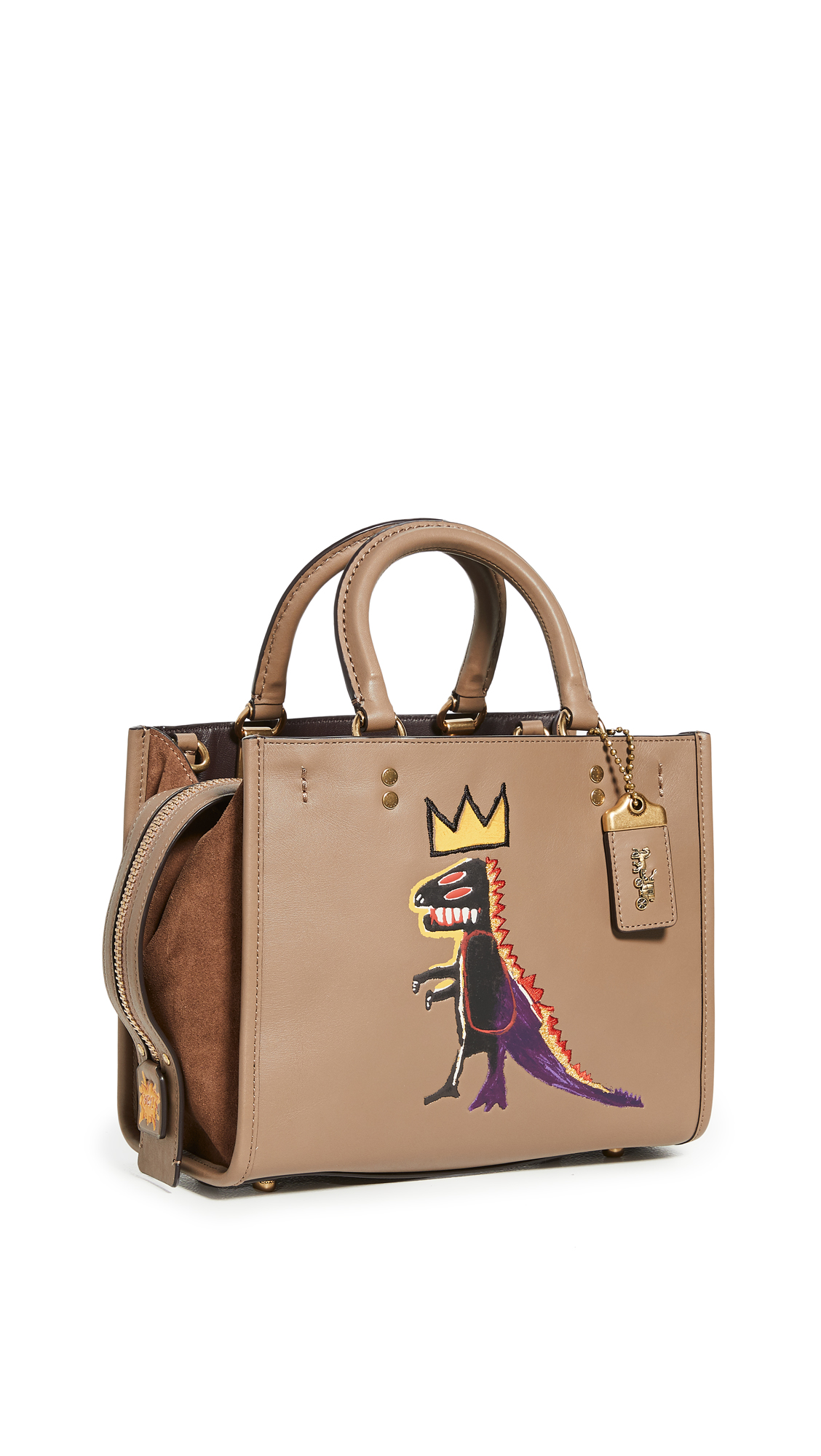 Coach 1941 X BASQUIAT PEZ DISPENSER ROGUE BAG 25