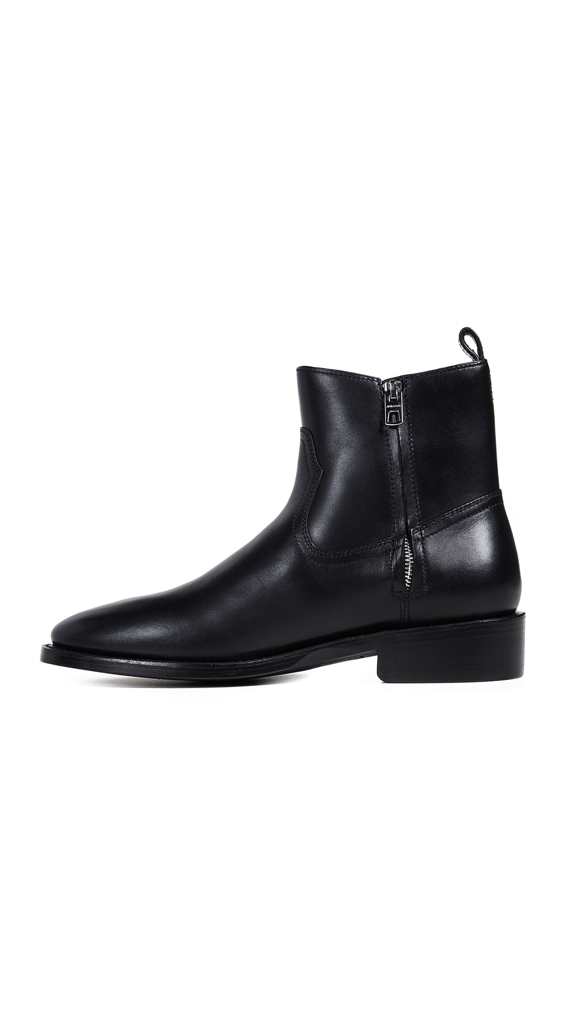 8622cd59cea Coach New York Leather Western Boots   EAST DANE
