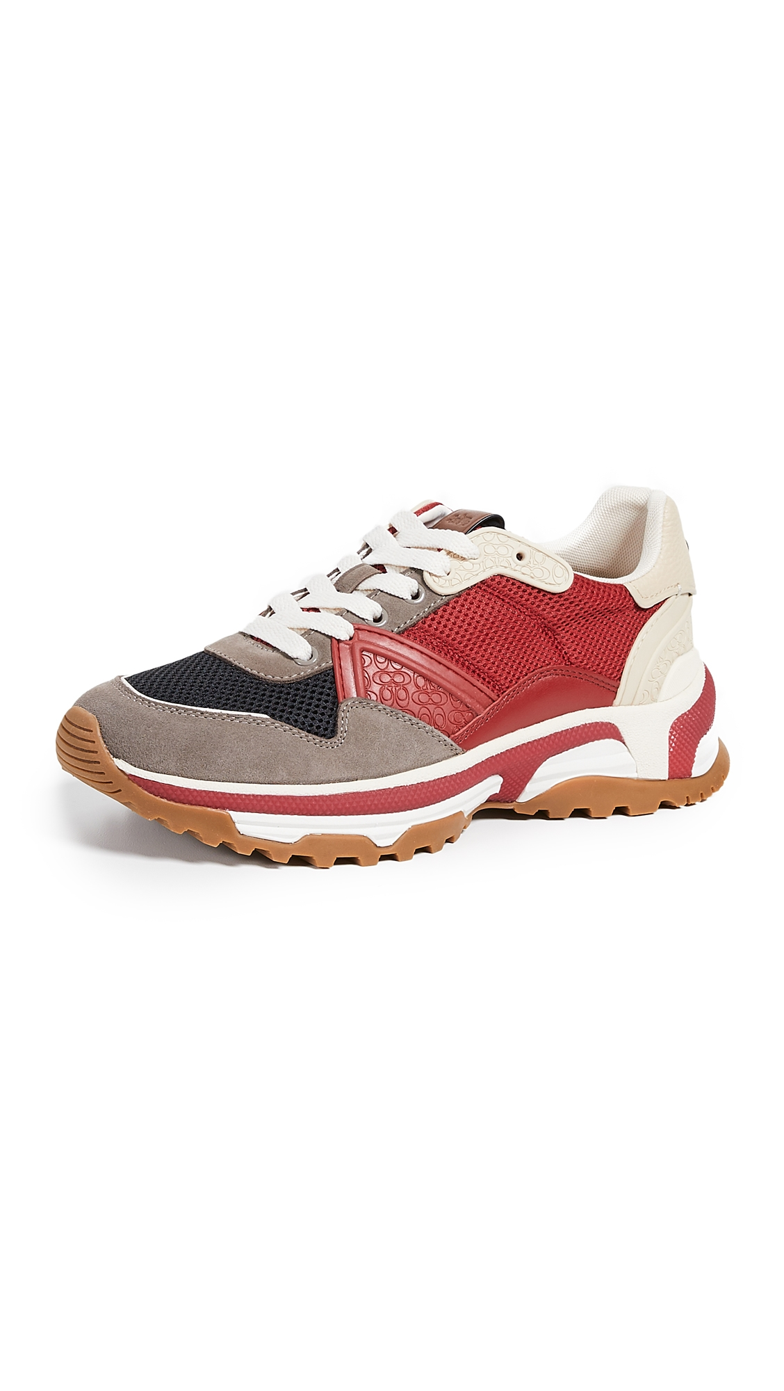 Coach Sneakers C143 Active Mixed Material Sneakers