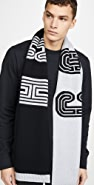 Coach New York Retro Coach Knit Scarf