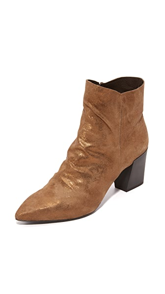 Coclico Shoes Joy Booties - Met Bronze