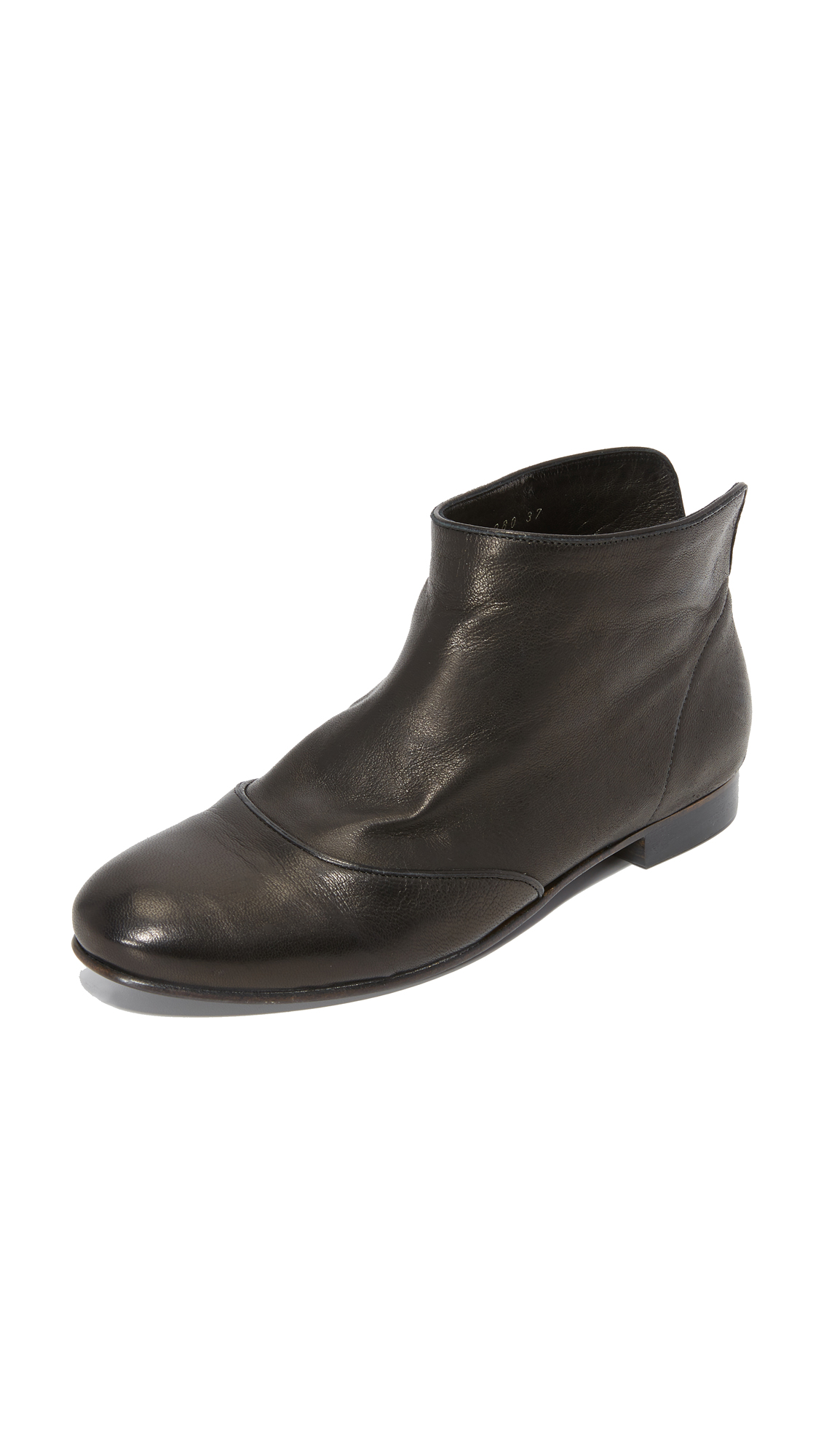 Coclico Shoes Isla Booties - Black