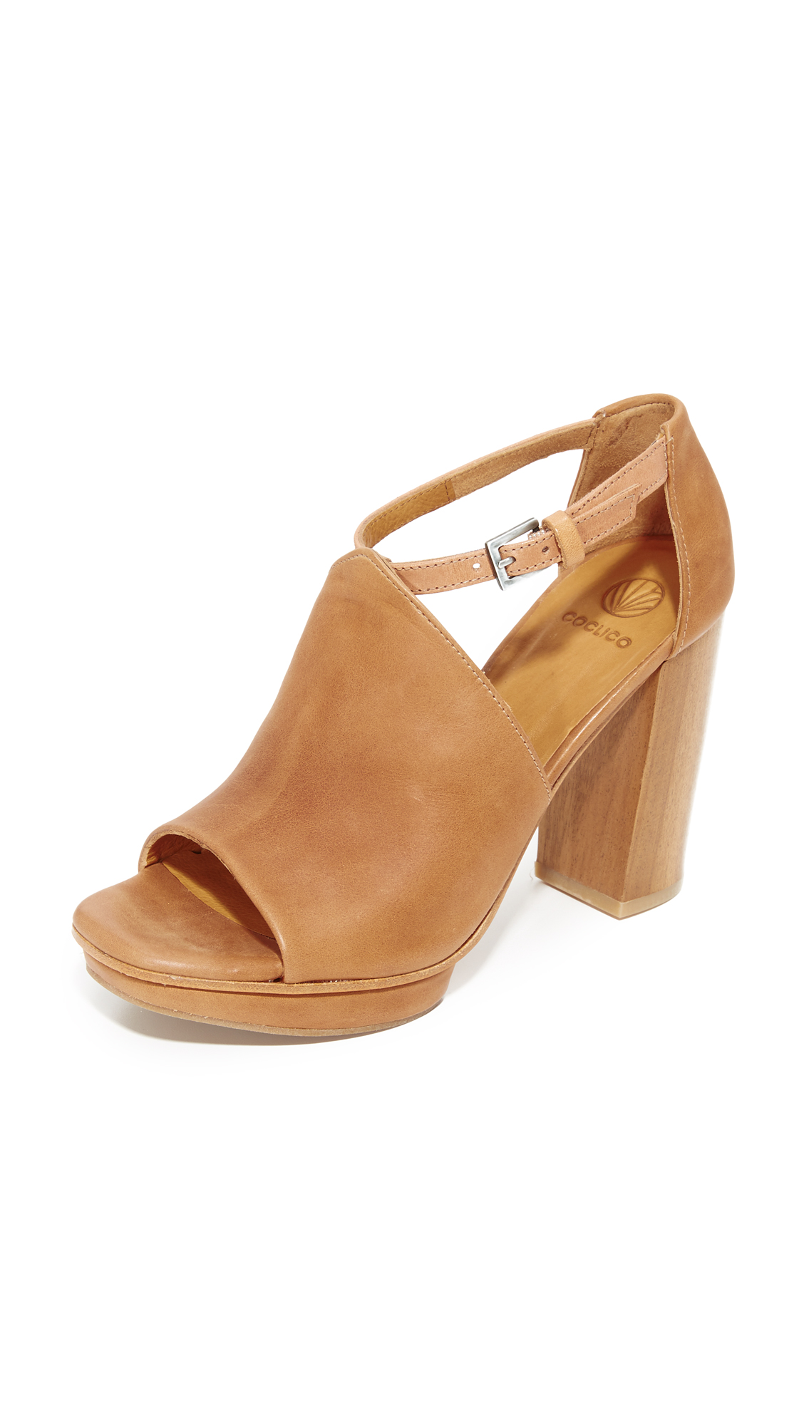 Coclico Shoes Leash Platform Sandals - Sahara at Shopbop