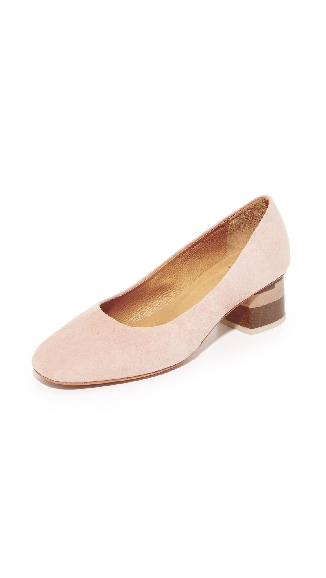 Coclico Shoes Epic Tricolor City Heels - Maquillaje/Tricolor at Shopbop