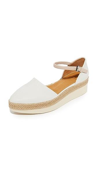 Coclico Shoes Pop Up Flats - Igloo/Natural