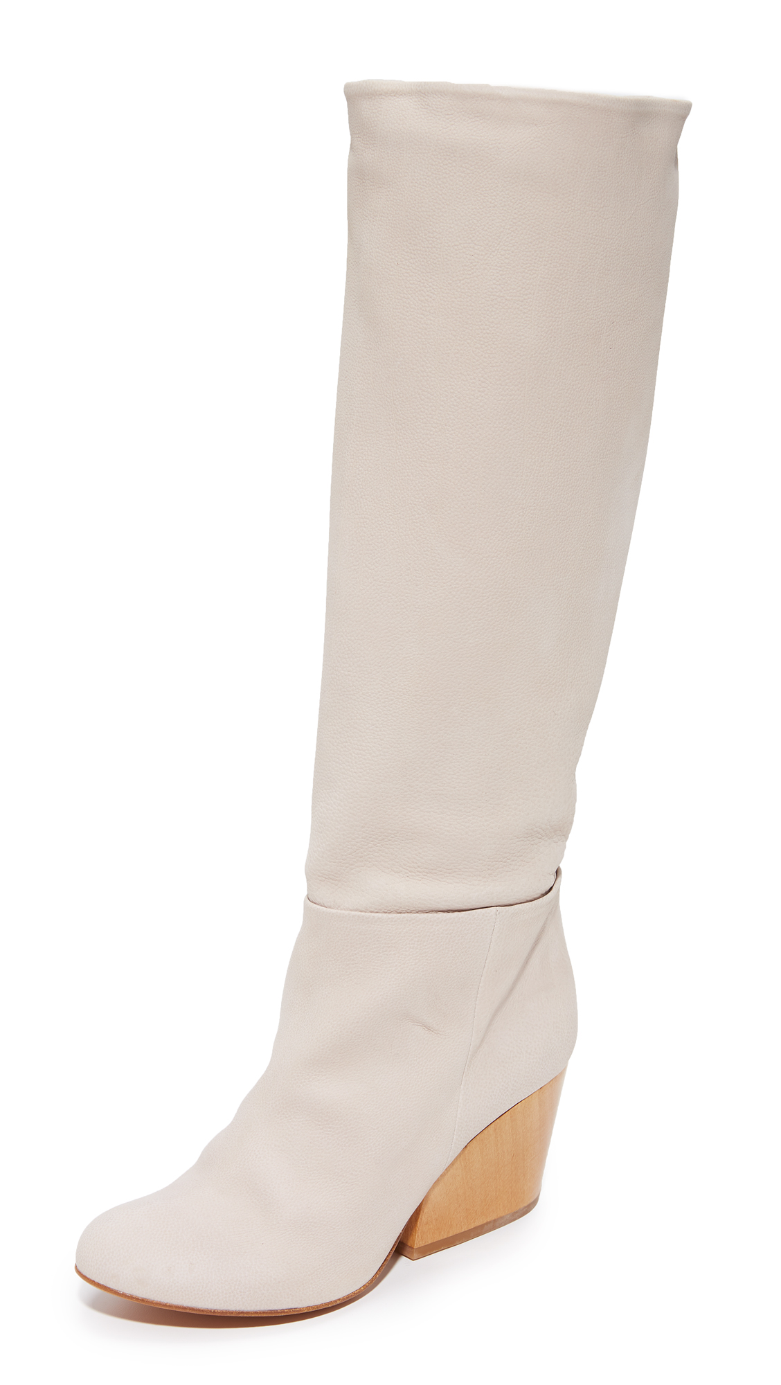 Coclico Shoes Bly Knee High Boots - Grain Beige