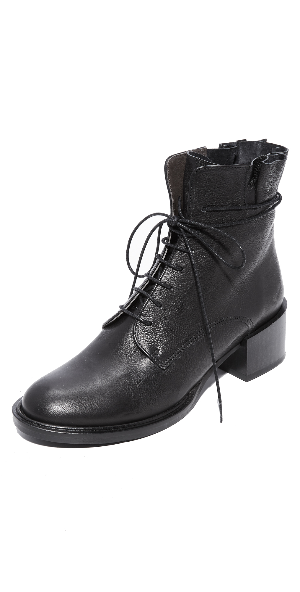 Mansi Lace Up Booties Coclico Shoes