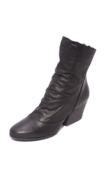 Coclico Shoes Zerit Sock Booties In Kent Black