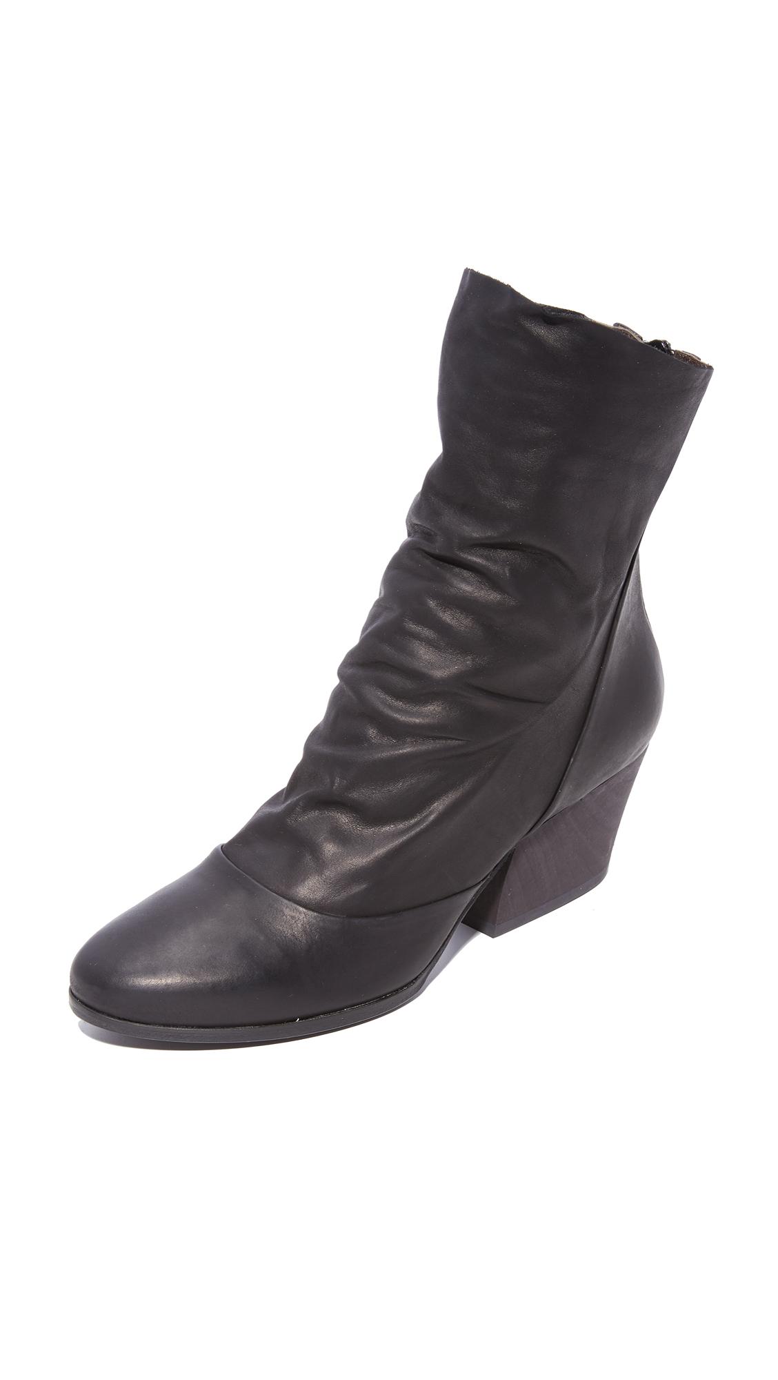 Coclico Shoes Zerit Sock Booties - Kent Black