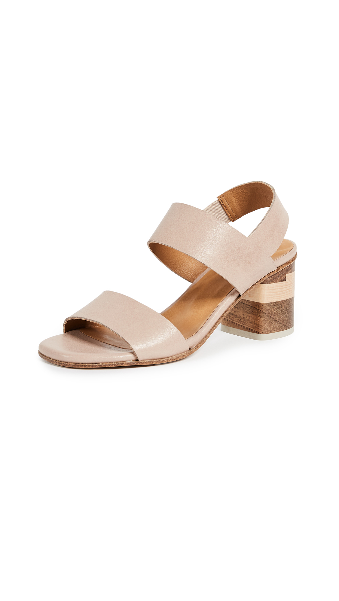 Coclico Shoes Bask Block Heel Sandals - Cathay Cocco