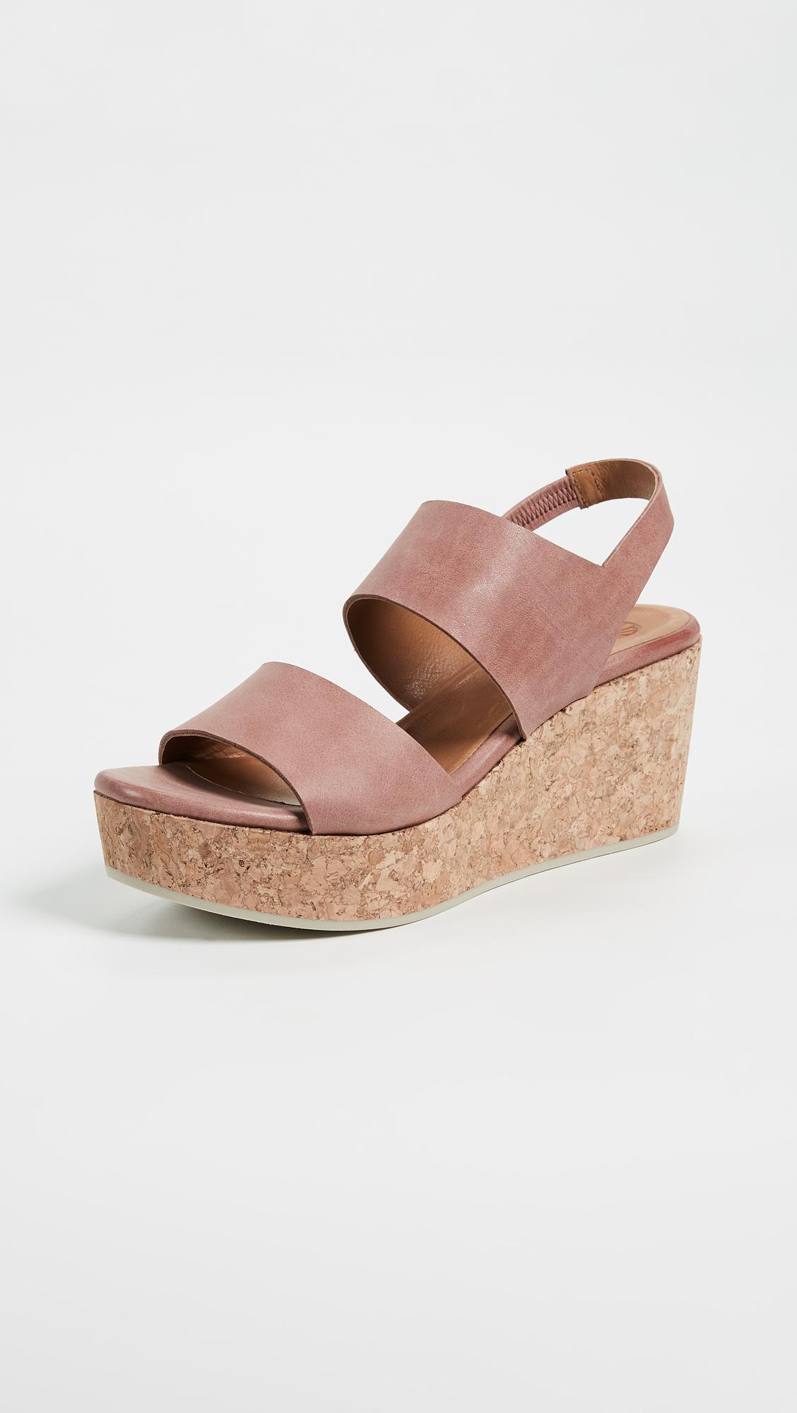 Coclico Shoes. Glassy Platform Sandals