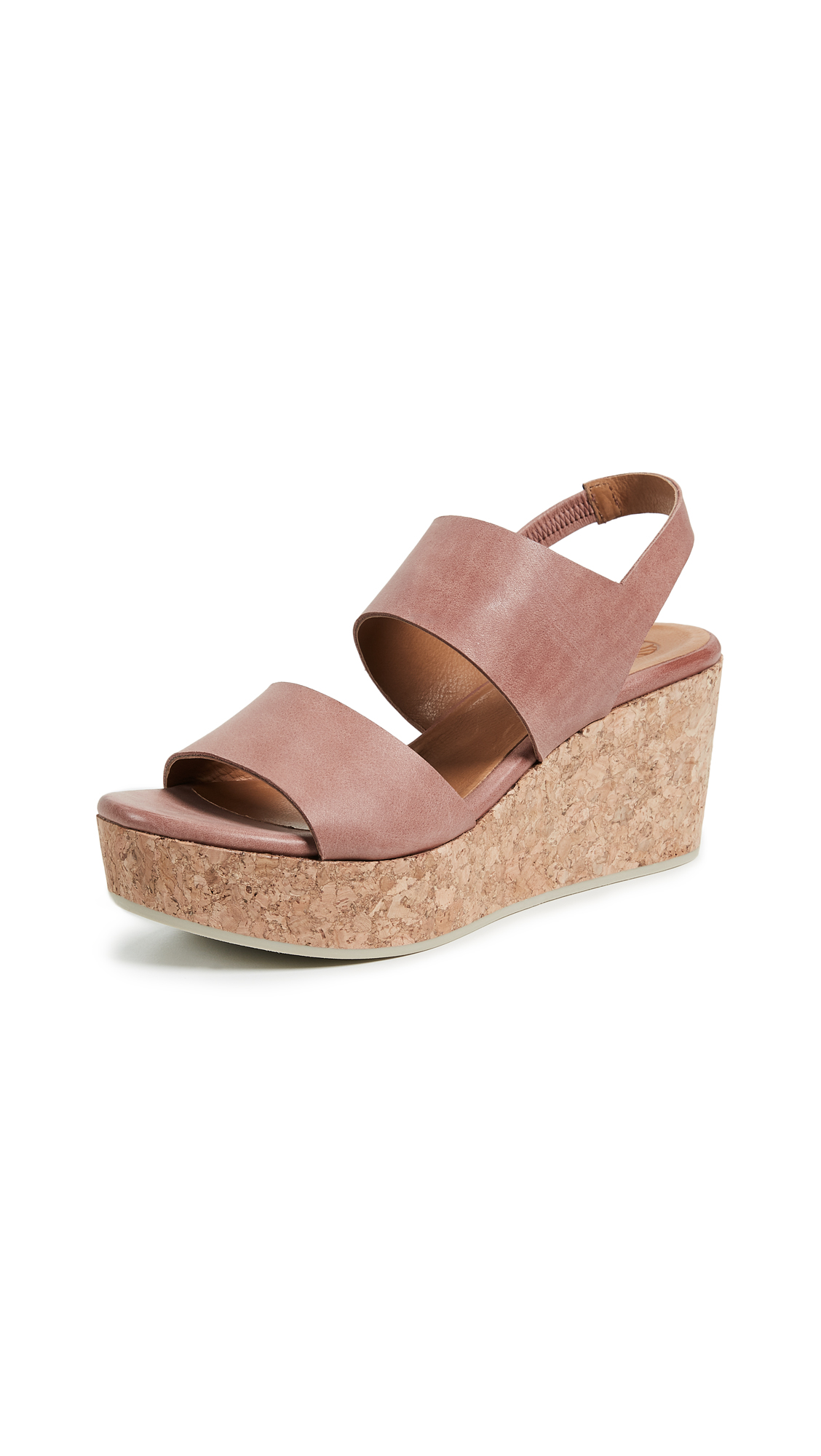 Coclico Shoes Glassy Platform Sandals - Rose