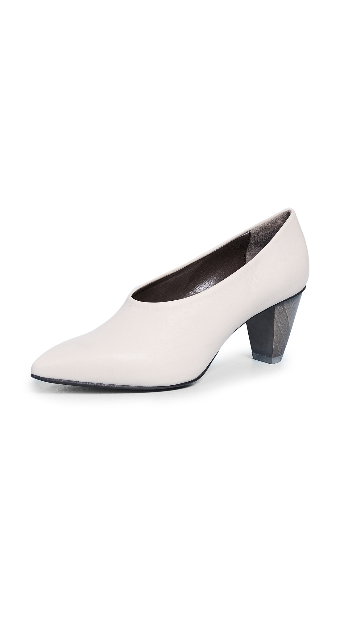 Coclico Shoes Jackii Point Toe Pumps - Nature Ace