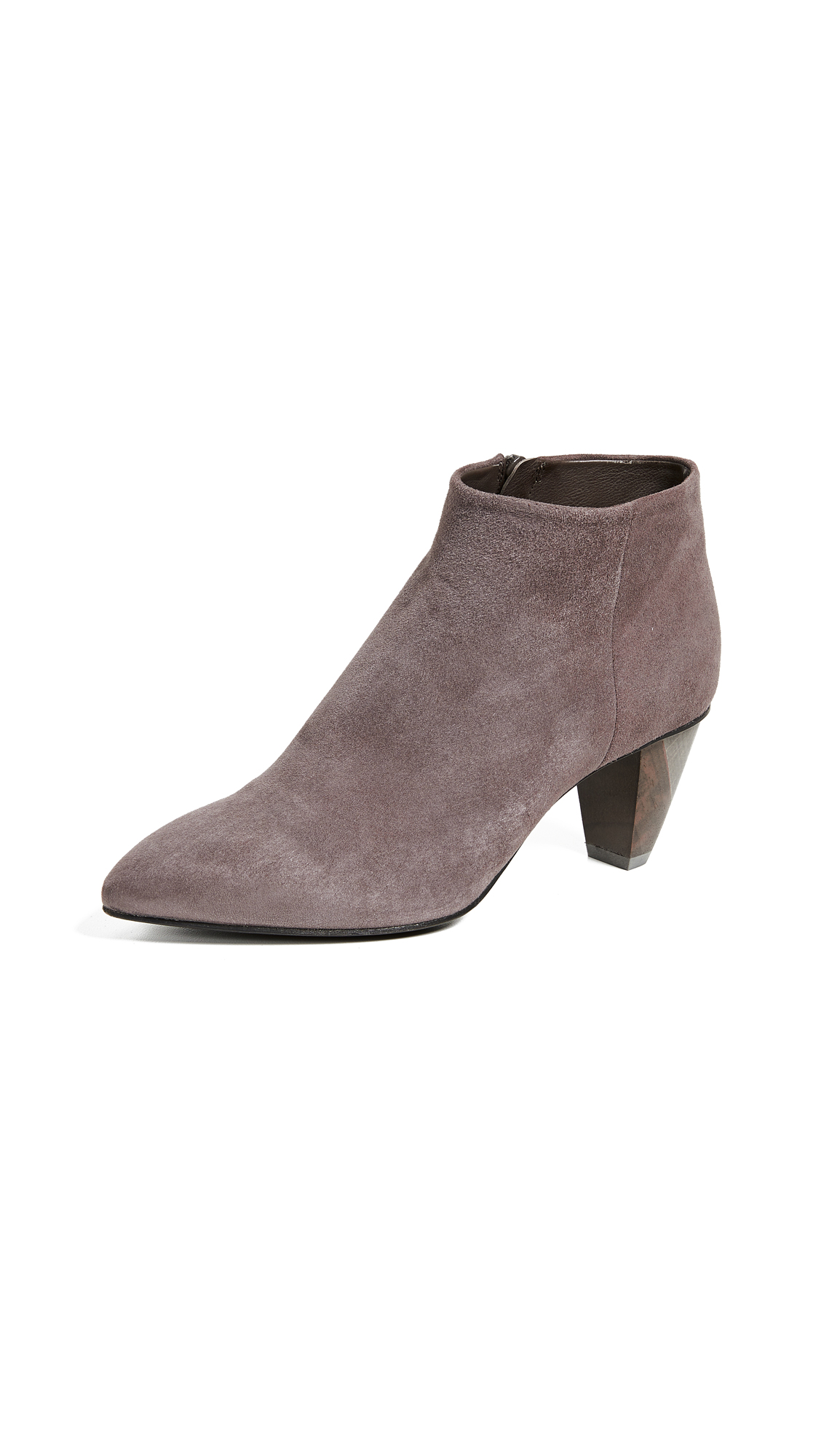 Coclico Shoes Jalapa Point Toe Booties - Ante Cinder